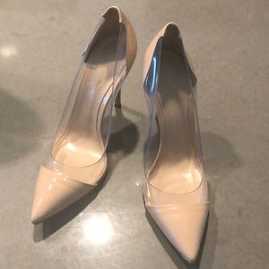 Gianvito Rossi Nude Plexi Pumps, US 9 🎉🎊💃🏽